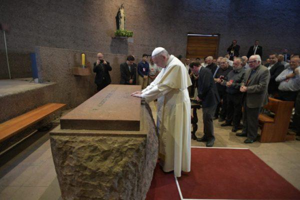 Papa Francisco, Visitando a Padre Hurtad, Jesuitas, Hogar de Cristo