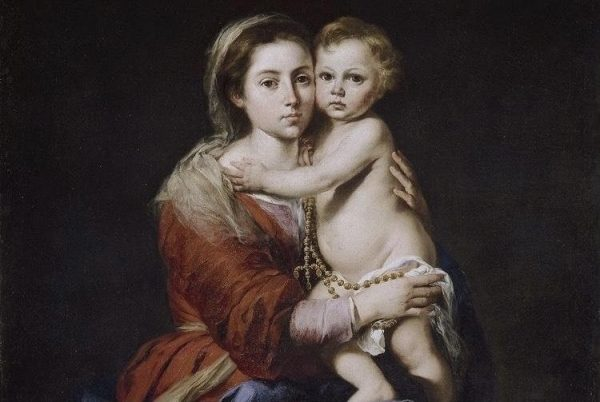 Virgen de Rosario Maria Paola bertel