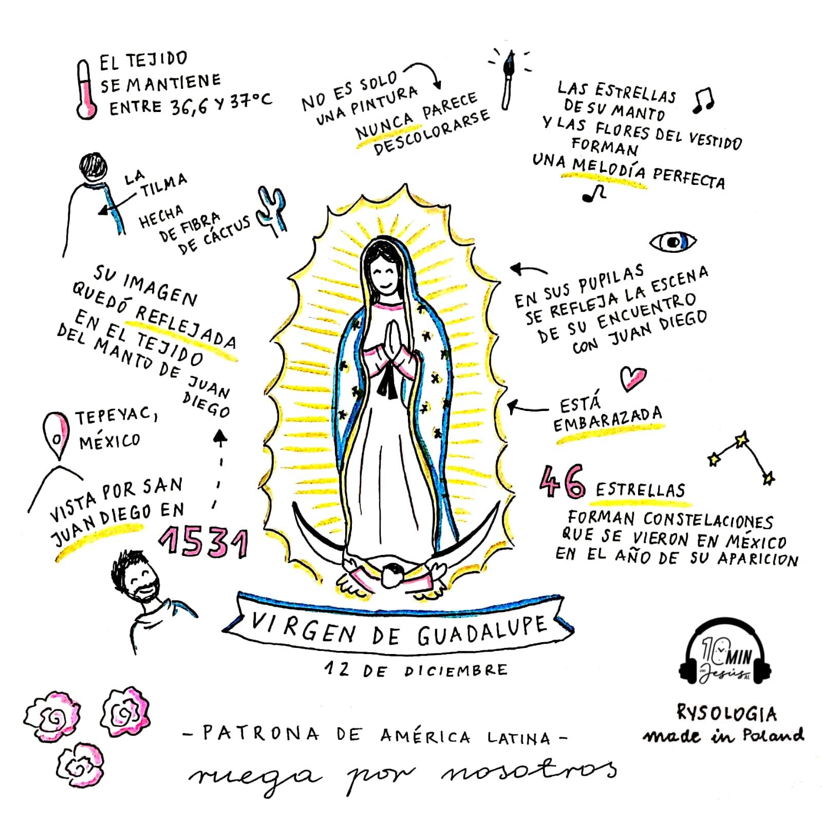 Virgen de Guadalupe, Rysologia